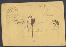LETTRE TAXE ANNÉE 1855 de GIVRY EN ARGONNE  DESTINATION STE MENEHOULD