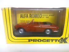 PROGETTO K 1/43 ALFA ROMEO GIULIA GTC OPEN 1965   071