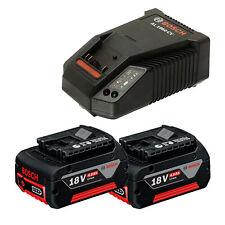 Batterie 2,0 Ah L-Boxx Chargeur AL 1860 CV Bosch Batterie-Scie sauteuse GST 18 V-LI S