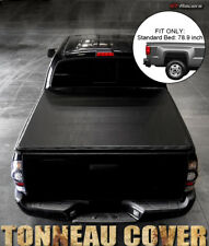 """For 2004-2014 F150/2006-2008 Mark LT 6.5 Ft 78"""" Bed Snap-On Vinyl Tonneau Cover"""