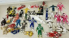 Lot of 35 Mighty Morphin Power Rangers Figures Bad Condition Dirty