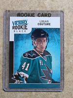 09-10 UD Victory Black Rookie LOGAN COUTURE RC #329
