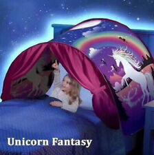 Kids Dream Tent Pop-up Foldable Bed Indoor Unicorn Home Playhouse Boy Girls Gift