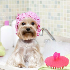 New Pet Dog Silicone Cleaning Wet Dry Shower Head Massage Grooming Bath Brush