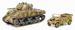 Dragon Armor 60421 Beutepanzer M4A2 75 + Kubelwagen