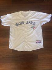 669277b4e R.A. Dickey White Toronto Blue Jays MLB Jersey Adult Size 52 Majestic Cool  Base