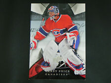 2008-09 08/09 Upper Deck UD Trilogy #12 Carey Price Montreal Canadiens