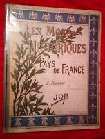 Les mots historiques du Pays de France illustrés d'aquarelles par JOB