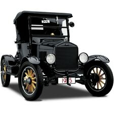 A Ford Sport Model T 1 Vintage Antique Car 12 Classic 24 Carousel Black Metal 18