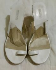 michael kors 7.5 women wedge shoes