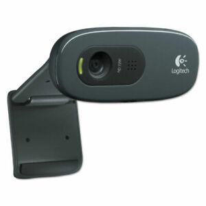 Logitech C270 HD Webcam for Video Calls 720p Black 960000694