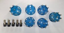 5 Blue Ready-To-Run / Pro Billet Replacement Distributor Caps & Rotors Tsp 88.5