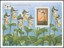 Mongolia 1997 Orchids/Butterflies/Insects/Flowers/Plants/nature 1v m/s ref:b5024