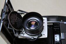 Brand new black aluminu snap-on Lens Hood for Polaroid 110B 110A 180  195 camera