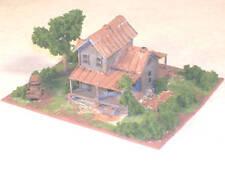 Z Scale Rustic House Diorama