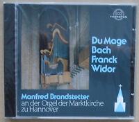 Manfred Brandstetter an der Orgel der Marktkirche zu Hannover - CD neu & OVP
