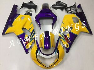 Alstare ABS Injection Mold Bodywork Fairing Kit Cone for GSXR600/750 2001-2003