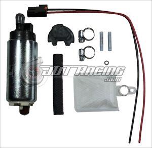 Walbro TI Auto 255lph High Pressure Fuel Pump Kit for 1989-98 240SX S13 S14 SR20