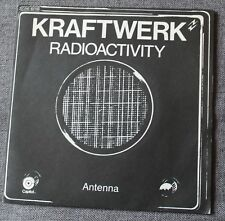 Kraftwerk, radioactivity / antenna, SP - 45 tours
