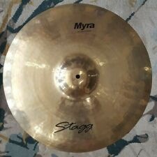 Stagg MY-CR20B 20-Inch Myra Rock Crash Cymbal, used