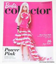 Barbie Collector Catalog Spring Preview 2012 Cover: Plat. Pink Pantone Muse Doll