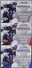 10-11 Certified Nazem Kadri /100 Certified Potential BLUE Maple Leafs 2010