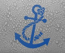 Anchor Vinyl Sticker Decal Maritime Boat Dinghy Ship Canoe Yacht #1 - DEC1002