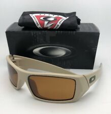 452022bfcc OAKLEY Sunglasses GASCAN 11-015 60-15 Desert with Bronze Lenses and US FLAG