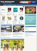 EBAY INFORMATION - Affiliate Website For Sale - Free Installation