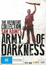 Army Of Darkness - Blu-ray & DVD - 5 Disc Set - AU Release - Slipcase - Like New