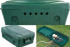 Masterplug Waterproof Outdoor Electric Socket Junction Box IP54 Garden Power