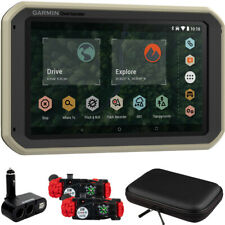 Garmin 010-02195-00 Overlander On/Off-Road Navigator Gps w/ Accessories Bundle