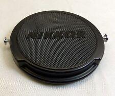 52mm Nikon Nikkor Front Lens cap cover genuine JUM 515897 metal slips Genuine