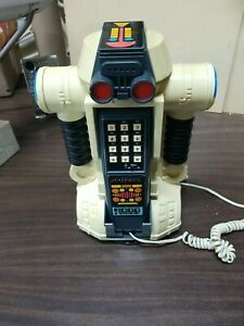 Ideal Toy 1984 Robo Force MIXX Vintage Push Button Telephone