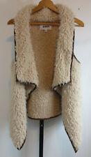 BB Dakota Womens Size Medium Kala Faux Shearling Vest BH301630