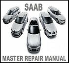 SAAB ALL MODELS 1994-2012 Service Repair Workshop Manual Factory DVD