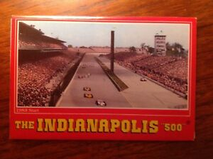 1983 Indianapolis 500 postcard.   collectable!