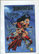 VAMPIRELLA/PAINKILLER JANE GOLD (9.2) SIGNED BY QUESADA AND PALMIOTTI