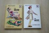 2 (TWO) LADYBIRD HARDBACK BOOKS - THE WIFE & THE MUM VGC