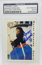 Manon Rheaume autographed  PSA/DNA 1993 Classic C3 Presidential.