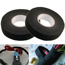19mmx15M Looms Wiring Harness Cloth Fabric Tape Adhesive Cable Protection  I