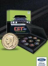 Ford GT Collection Of Coins On Gold Plated Pennies-Very Limited Edition-HURRY!!!