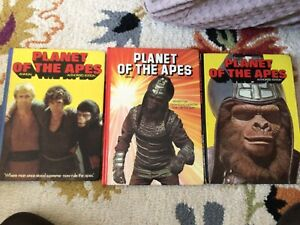 3 X planet Of The Apes Annuals 1970's