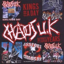 CHAOS UK - Kings For A Day... The Vinyl Japan Years  (2-CD)