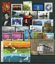 Iceland GREAT Lot of Used Stamps 2009-2011 - FREE SHIPPING