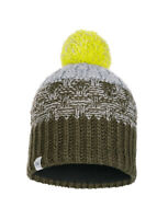 NWT!! BUFF junior knitted & fleece hat tait forest with Neck Warmer