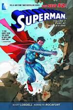 Superman Vol 3: Fury at World's End by Lobdell & Rocafort HC 2014 DC New 52