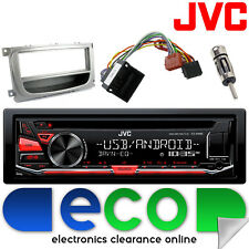 Ford Mondeo MK4 06-14 JVC CD MP3 Usb Aux Ipod Coche Radio Estéreo Kit de montaje FD26
