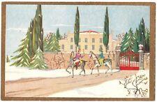 ART DECO Max Ninon Accornero Edina Altara inverno neve Winter - Degami  2152