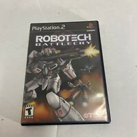Robotech: Battlecry - Playstation 2 PS2 Game - Complete CIB Free Ship Video Game